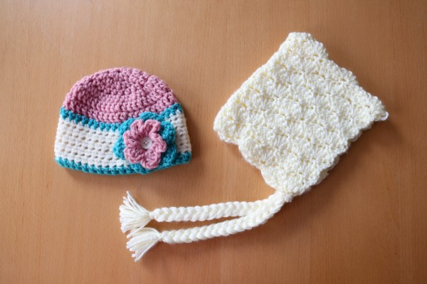 crochet newborn hats