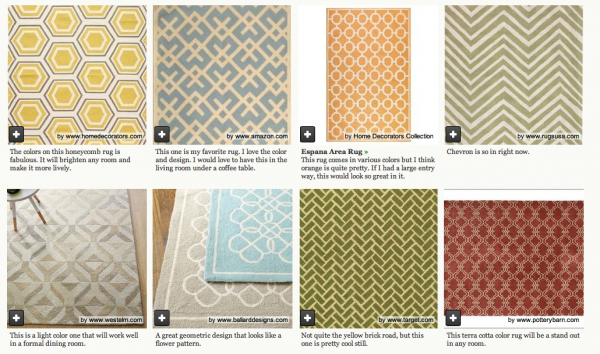 houzz geometric rugs