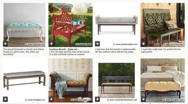 houzz benches
